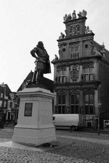 Monochrome Dutch Cities Cityscape Bnw Streetlife VOC Coen Jan Pieterszoon