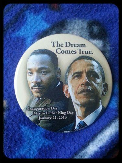 Happy MLK Day N Happy Inauguration Day President Obama