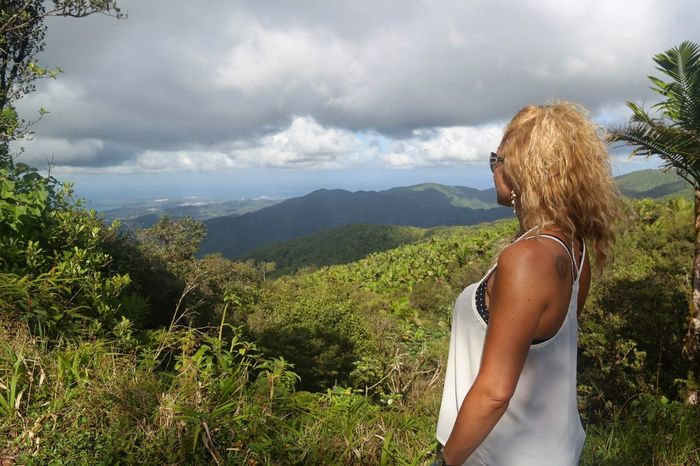 Telling Stories Differently Finding The Beauty Beautiful Rainforest El Yunque Puerto Rico Taking Photos Vacation Time My History Mountains Blue Sky Blue Wave Peaceful Breathtaking Feel The Journey Original Experiences Girl Power