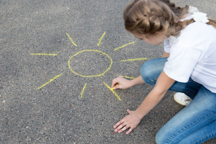 children draw in crayon on asphalt Happiness Sunshine Friendship Doodle Sketching Game Chalking Pavement Colorful Activity Creative Playground Happy Lifestyle Playing Coloring Painting Leisure Education Artist Sun Cute Play People Image Draw Art Outside Street Sidewalk Hand Color Fun Outdoor Day Summer Crayons Children Family Chalk Drawing Asphalt Creativity Child Childhood Girl Teenager Teen Copy Space Copyspace