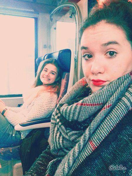 Traveling Friends Selfportrait