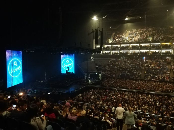 Spectator London O2 Arena Concert Entertainment Occupation Stage Music Concert Stage - Performance Space Concert Hall  Stage Light Live Event Entertainment Event
