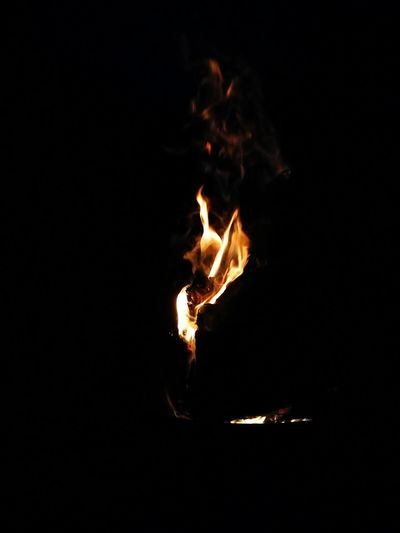 Flame Burning Heat - Temperature Business Finance And Industry No People Night Indoors