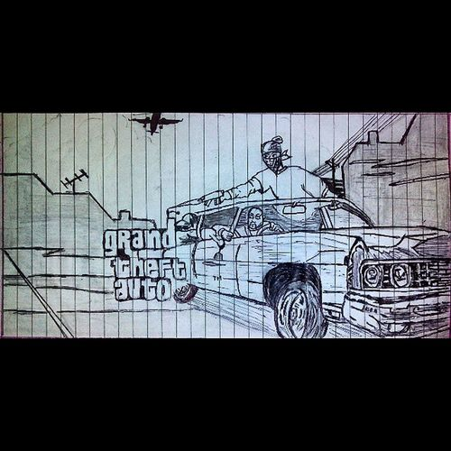 Masterpiece Madebyme GrandTheftAuto Character Coversketch Sketch Art Illustration Artsy Artist Lovedrawing Beautiful Sketchbook Instaartist Creative Paper Story Fineart Pen Pencil Pencilsketch Artistic_share Art_ente_share Sketchy Popart artwork picoftheday instaart tagsforlike artoftheday