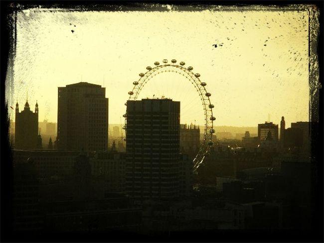 Sunrise London Eye London City Of London