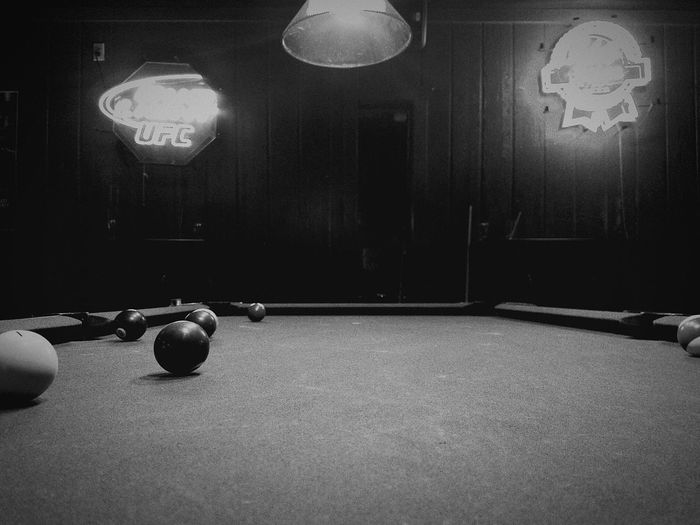 Indoors  Pool Table No People Pool Ball Friends RackEmUp Shooting Pool Night EyeEmBestPics Eye4photography  Epicshot Check This Out Interesting Photographers Taking Photos Photolife Hanging Out Thisiscool Anotherdayofmylife:)) EyeEm Best Shots EyeEmBestEdits My Point Of View Fun Times Cue Ball Indoors  B&W Collections