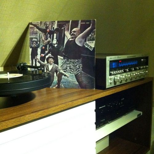 My Vinyl Collection Strange Days The Doors Vinyl 19?? Canadian pressing