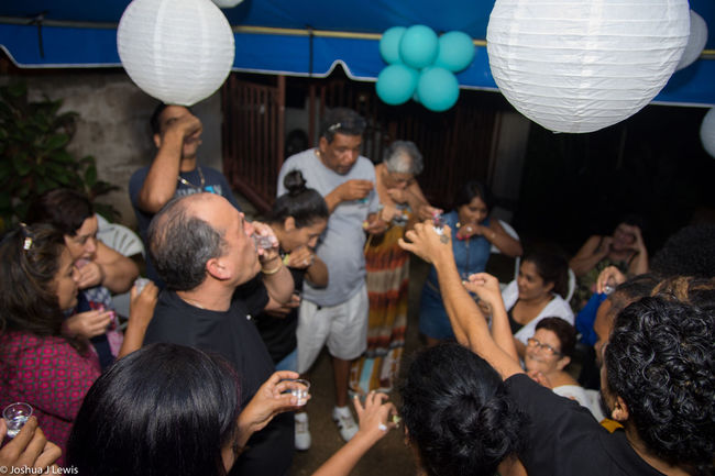 Mid Adult Young Adult Party - Social Event Birthdayparty People Trinidadandtobago Ballons FamilyTime Drinks Shots Beautiful Food And Drink Beautiful People Happiness Caribbean Stillife Trinidad And Tobago Fun Togetherness Alcohol 75th Motherandson  Granny