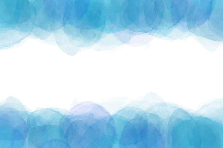 summer blue water wave abstract or watercolor paint background Japan Japanese  Paint Wave Abstract Backgrounds Blue Close-up Copy Space Grunge Indoors  Nature No People Pattern Sky Studio Shot Water Watercolor Watercolor Painting White Background