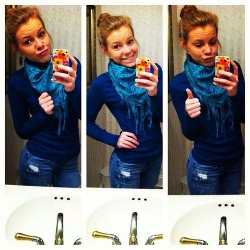I feel kinda cute today. ☺