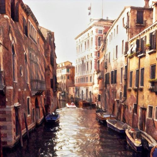 Canal Cultures Travel Destinations Gondola - Traditional Boat Building Exterior Architecture City Outdoors Day People Gondolier prisma