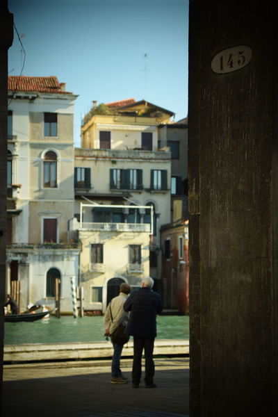 Traveling Home For The Holidays Building Exterior Architecture Real People Built Structure Outdoors People One Person Day Adults Only Adult Venezia