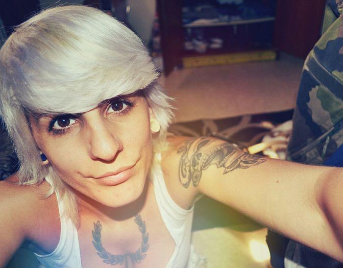 Tetedemort Blonde Tattoo Nikon