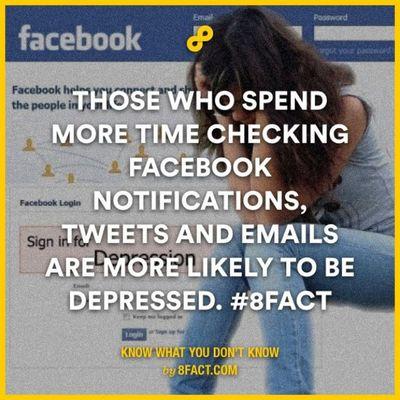 Me be like.... Depress Facebook Fb