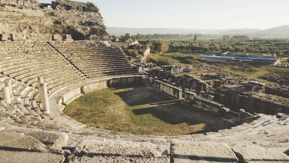 WAS in Miletos of Aydin/Turkey . Driving and Traveling in History from Priene to Didyma with Love . Antique Amphitheatre The Architect - 2015 EyeEm Awards Architecture EyeEm Best Shots