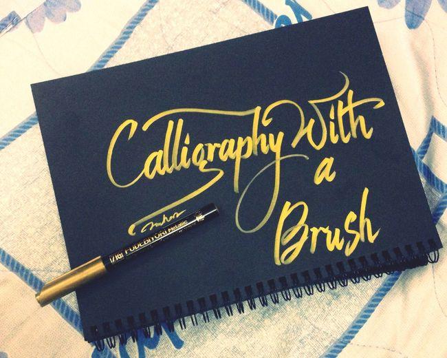 Brushlettering Calligraphy