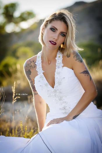 novia Beautiful People Beauty Chicasguapas Person Portrait Retrato Tatuaje Young Adult Young Women