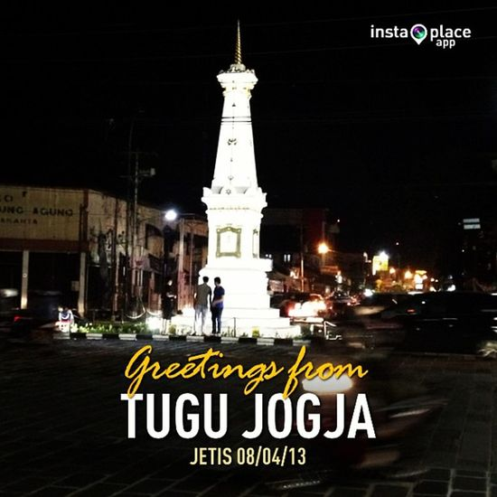 Tugu Jogja.. InstaPlace Instaplaceapp Instagood Travelgram Photooftheday Instamood Picoftheday Instadaily Photo Instacool Instapic Picture Pic @instaplacemobi Place Earth World INDONESIA Id Jetis Tugujogja Street Night