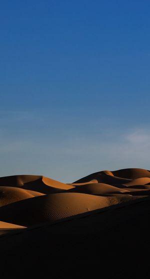Sky Scenics - Nature Desert Tranquil Scene Land Blue Tranquility