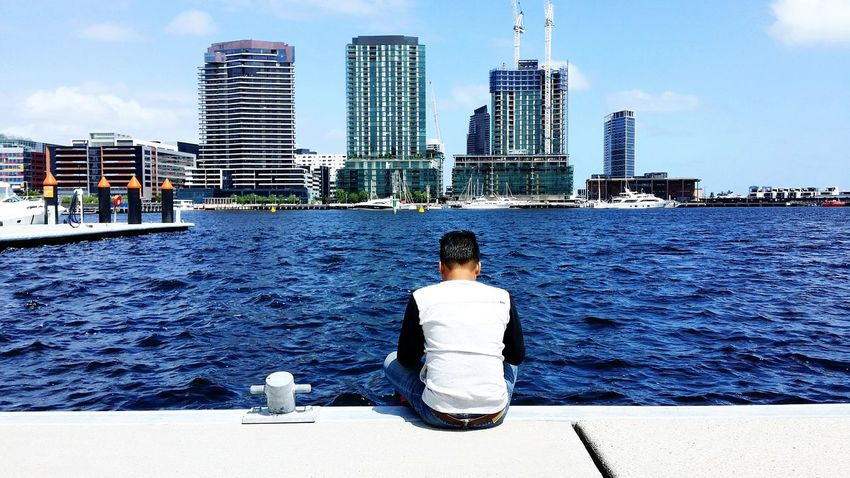 Hey there Love ☺ Docklands,Melbourne Amazing Place Peace And Love Enjoying Life 57th