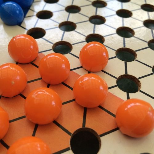 China chequers Orange Boardgame Chequers China China Chequers First Move Move Star