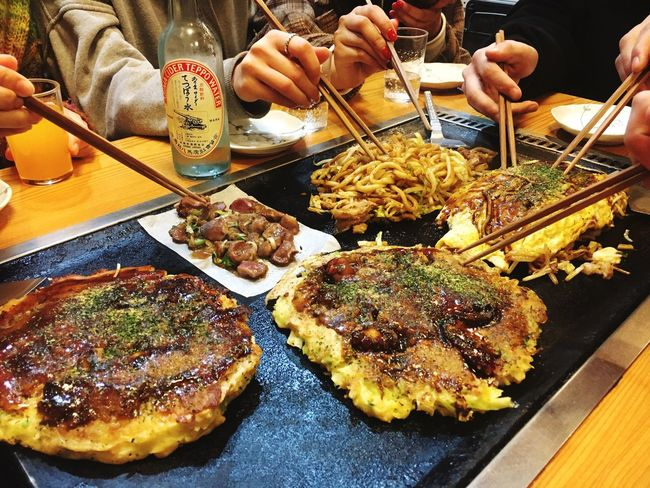 Food And Drink Food Human Hand Human Body Part Table Chopsticks Indoors