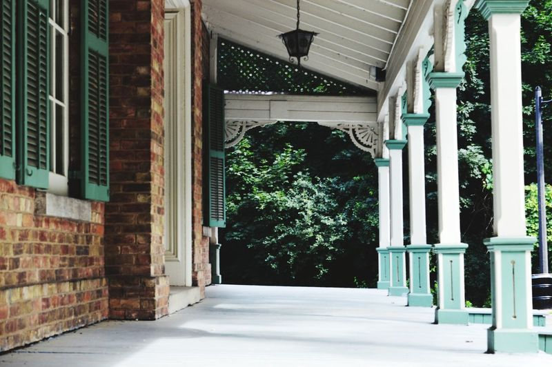 This old house. Architectural Column Architecture Built Structure Entryway Passageway Colonnade Door Entrance Front Door Arcade Arched Historic Passage