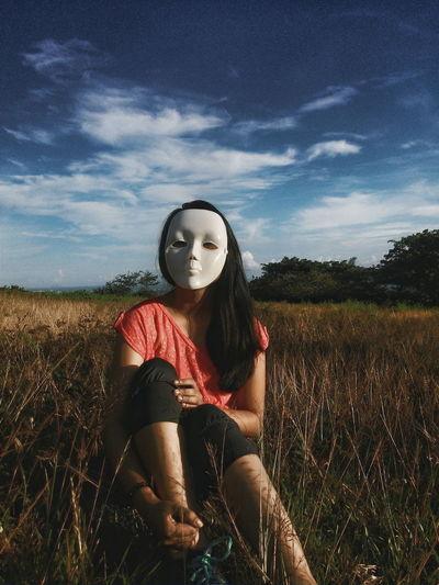 Masked Maskedportraits Masked Portrait Portrait Eyeem Philippines Philippines Zamboanga Showcase March Mystery Faceless Nature