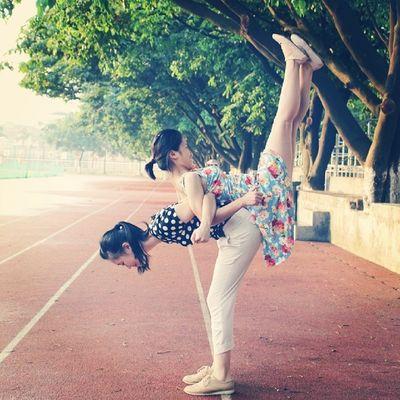 和吴阿姨的热身运动