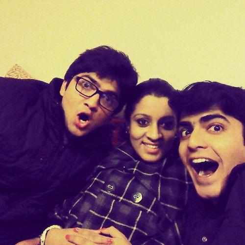Delhi winters. Huddling together for warmth! Winter Delhi