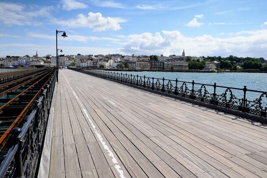 Cloud - Sky Outdoors Travel Destinations No People Water Sea Piers Decking Wood Seaside Coastal Town