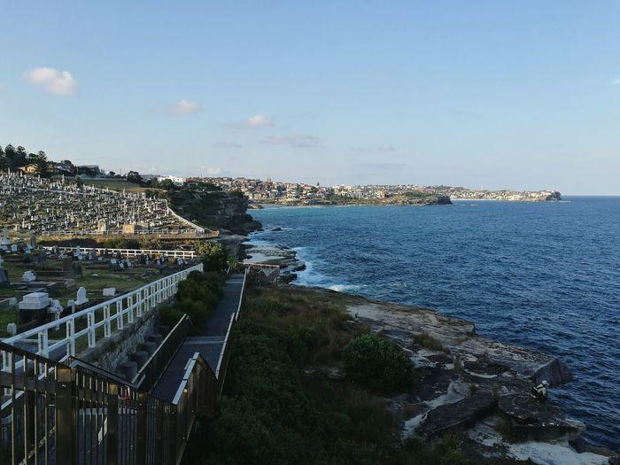 Coogee to Bondi coastal walk. Taken on Huawei p9. Bondi Beach Sydney, Australia HuaweiP9