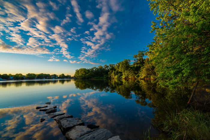 Baltimore Beauty In Nature Cloud - Sky Cufotos Day Lake Nature Nikon Nikonphotography No People Outdoors Reflection Scenics Sky Sunrise Tranquil Scene Tranquility Tree Water