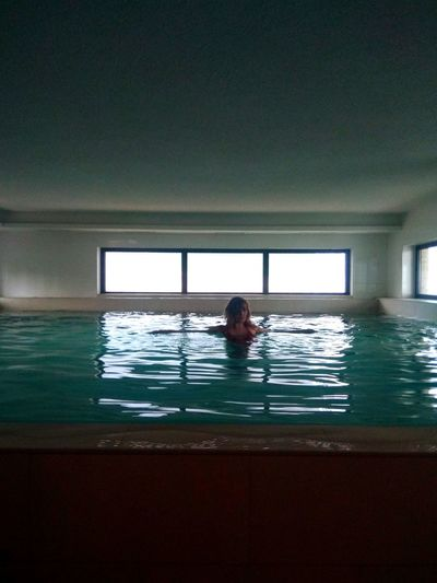 Water Swimming Swimming Pool Spa Sea Health Spa Women Young Women Wellbeing Window