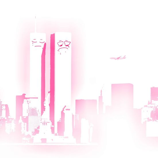 9/11. 9/11 9/11/2001 Art ArtWork EyeEm Selects Pink Color Pastel Colored No People White Background Day The Graphic City