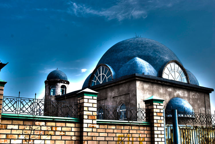 Architecture Dome Islam Islamic Islamic Architecture Kyrgyzstan Mosque No People Relaxing Religious Architecture Sky