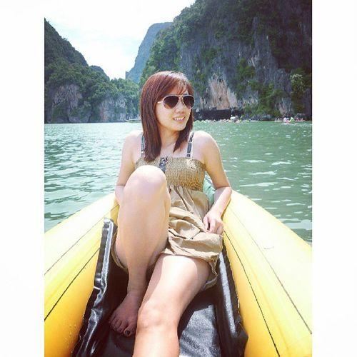Unexpected journey! Phuket Khophiphi James bond Island october 2011 kano boat sail enjoy adventure journey earth