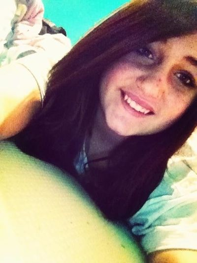 No makeup. Hair not straightened. All natural(: