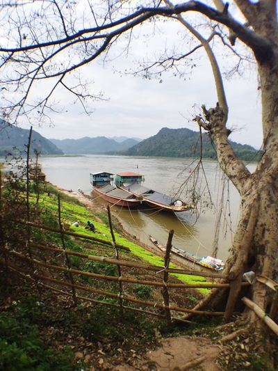 The other side of Luang Prabang - where the reality is... Seerealwanders Boats Mekong River
