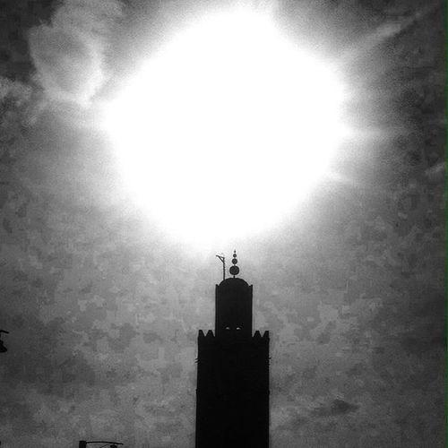 Call to prayer. Morocco Marrakech Minora