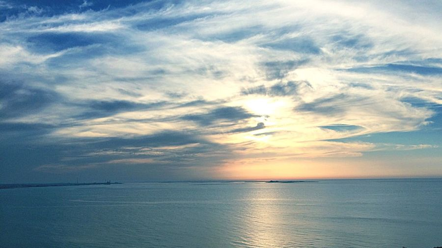 Sun Sea And Sky Clouds And Sky