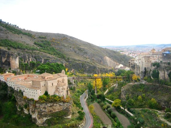 2015 Architecture Architecture_collection Autumn Autumn Colors Autumn In Spain From My Point Of View Hanging Bridge Incredible View No People Old Architecture Old Buildings Perspective Perspectives The Purist (no Edit, No Filter) View From Above Travel Photography