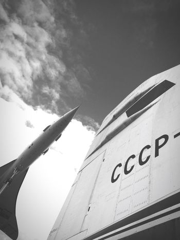 Tupolew144 Airplane Concorde Coldwar