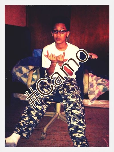 #Cooling In That Camo !
