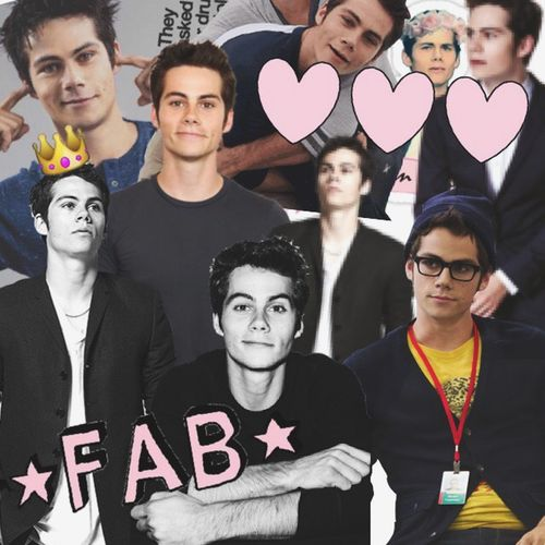 Dylan O'Brien  Collage Teen Wolf The Maze Runner DylanO'Brien