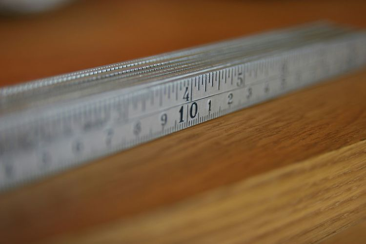 Bokeh Measuring Metric Inch Alloy MADE IN SWEDEN
