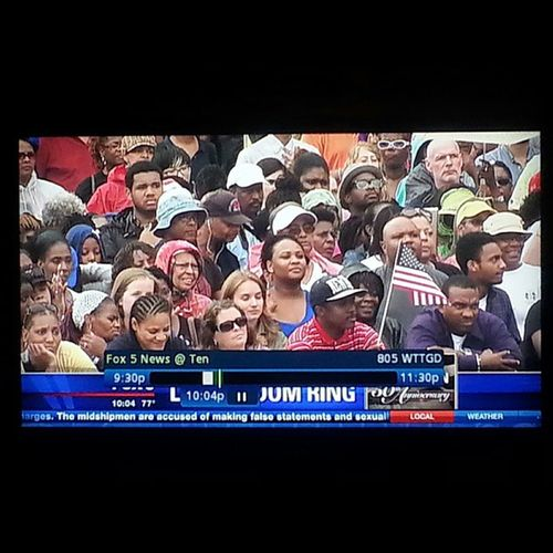 I'm in this photo!!! 50thAnniversaryMarchOnWashington Fox5News Fox5DC