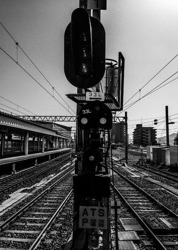 Blackandwhite Monochrome Train Station