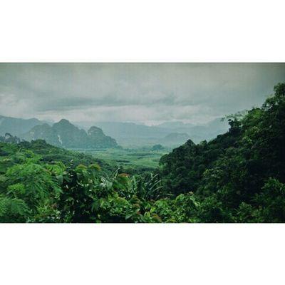 พน.กลับแล้ว :) ไปเล่นไหนดี Suratthani Kaosok Thailand Culture Enjoying Life Mountain View