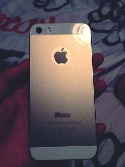I Lo Ve Yu Parasiempre Mi Iphone5s Dorado 😘 @